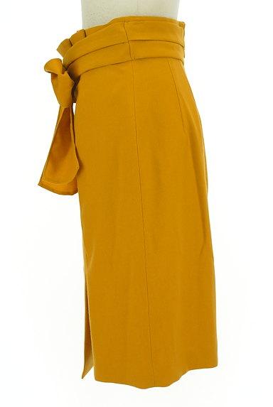 JUSGLITTY(ジャスグリッティー)の古着「ラップ風カラータイトスカート(スカート)」大画像3へ