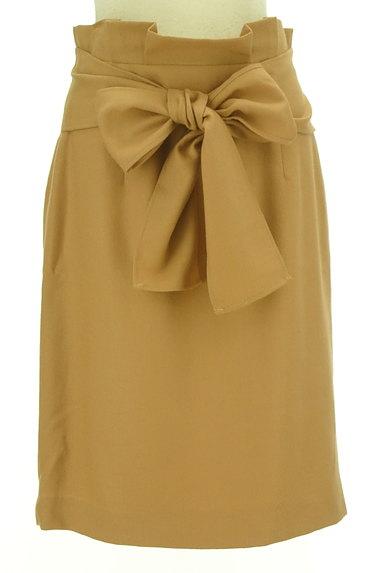 JUSGLITTY(ジャスグリッティー)の古着「大きなリボンのタイトスカート(スカート)」大画像1へ