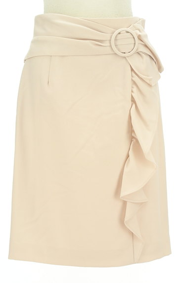 JUSGLITTY(ジャスグリッティー)の古着「フリルラインのタイトスカート(スカート)」大画像1へ