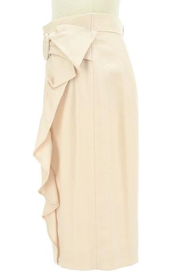 JUSGLITTY(ジャスグリッティー)の古着「フリルラインのタイトスカート(スカート)」大画像3へ
