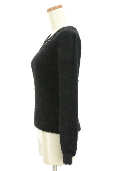LODISPOTTO(ロディスポット)の古着「パールネックのふんわり袖ニット(ニット)」大画像3へ