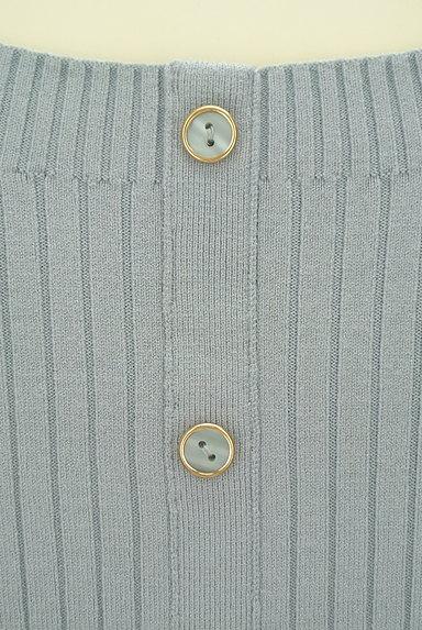 Rirandture(リランドチュール)の古着「後ろボタンのリブニット(ニット)」大画像4へ