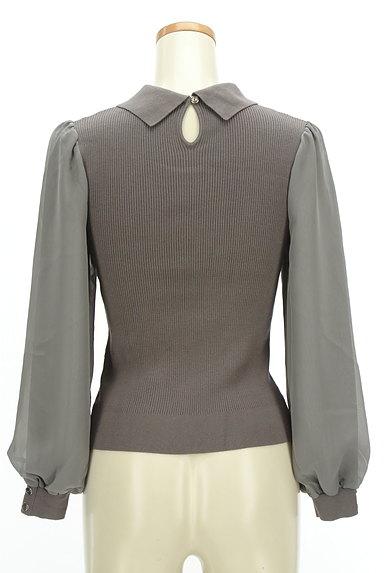 Rirandture(リランドチュール)の古着「襟付きシフォン袖リブニット(ニット)」大画像2へ