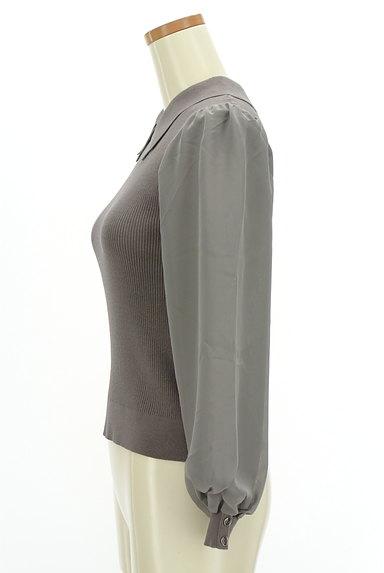 Rirandture(リランドチュール)の古着「襟付きシフォン袖リブニット(ニット)」大画像3へ