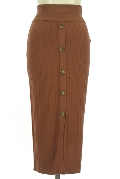 MURUA(ムルーア)の古着「フロントボタンリブセットアップ(セットアップ(ジャケット+スカート))」大画像5へ