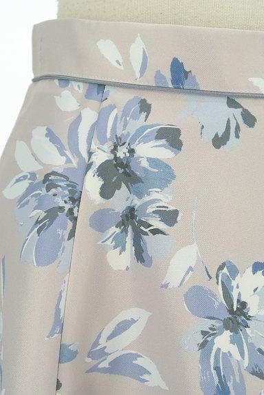 Apuweiser riche(アプワイザーリッシェ)の古着「艶めく花柄サーキュラースカート(スカート)」大画像4へ