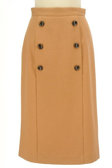 LAISSE PASSE(レッセパッセ)の古着「フロントボタンタイトスカート(ロングスカート・マキシスカート)」大画像1へ