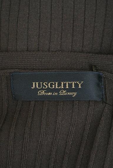 JUSGLITTY(ジャスグリッティー)の古着「カラーリブニットアンサンブル(アンサンブル)」大画像6へ