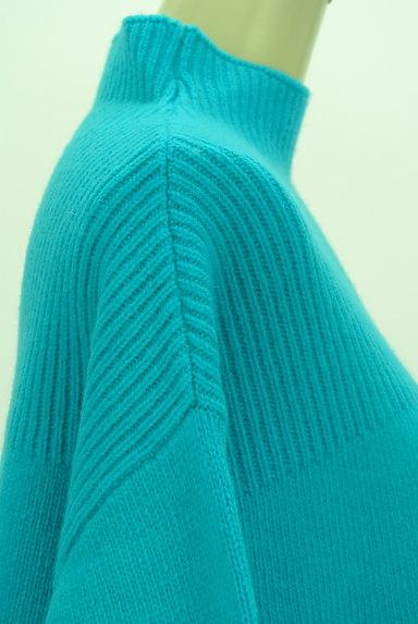 UNITED ARROWS(ユナイテッドアローズ)の古着「カラーモックネックニット(ニット)」大画像4へ