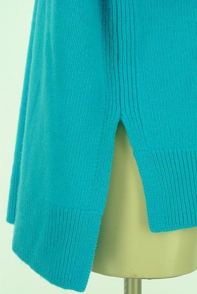 UNITED ARROWS(ユナイテッドアローズ)の古着「カラーモックネックニット(ニット)」大画像5へ