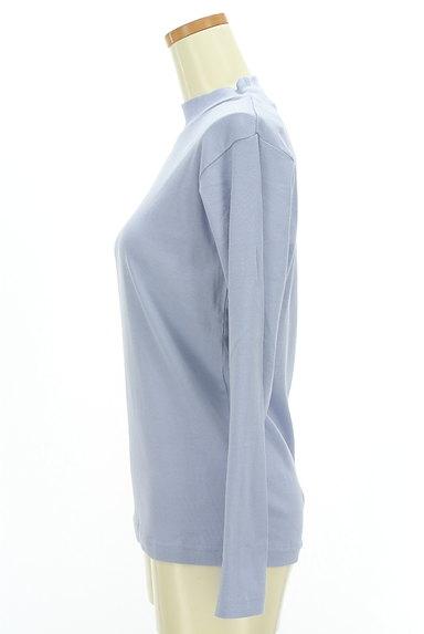 coen(コーエン)の古着「やわらかモックネックカットソー(カットソー・プルオーバー)」大画像3へ