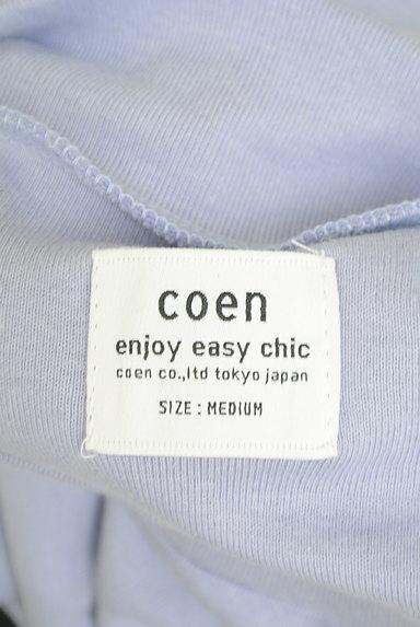 coen(コーエン)の古着「やわらかモックネックカットソー(カットソー・プルオーバー)」大画像6へ