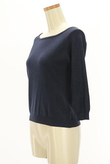 WILLSELECTION(ウィルセレクション)の古着「レース&リボンの7分袖ニット(ニット)」大画像3へ