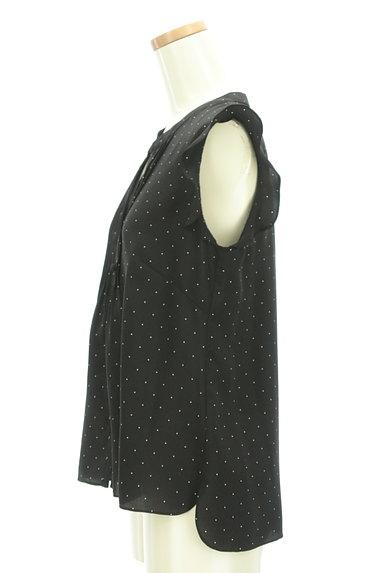 WILLSELECTION(ウィルセレクション)の古着「ピンドット柄フリルブラウス(ブラウス)」大画像3へ