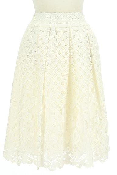 WILLSELECTION(ウィルセレクション)の古着「タックフレア総レーススカート(スカート)」大画像1へ