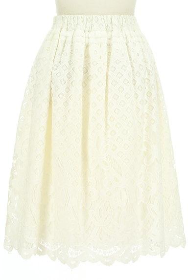 WILLSELECTION(ウィルセレクション)の古着「タックフレア総レーススカート(スカート)」大画像2へ