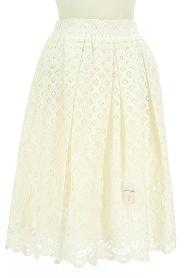 WILLSELECTION(ウィルセレクション)の古着「タックフレア総レーススカート(スカート)」大画像4へ
