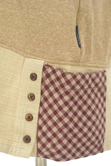 drug store's(ドラッグストアーズ)の古着「裾別地の花刺繍カットソー(カットソー・プルオーバー)」大画像5へ