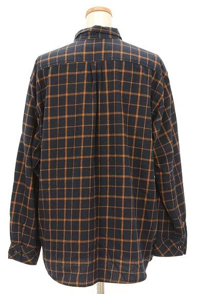 drug store's(ドラッグストアーズ)の古着「ひょっこりキャラのゆったりシャツ(カジュアルシャツ)」大画像2へ