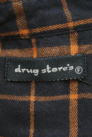drug store's(ドラッグストアーズ)の古着「ひょっこりキャラのゆったりシャツ(カジュアルシャツ)」大画像6へ