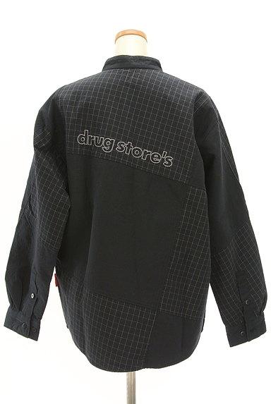 drug store's(ドラッグストアーズ)の古着「切替バンドカラーシャツ(カジュアルシャツ)」大画像2へ