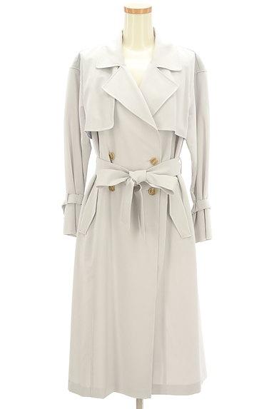 PROPORTION BODY DRESSING(プロポーションボディ ドレッシング)の古着「ペールカラートレンチコート(トレンチコート)」大画像1へ