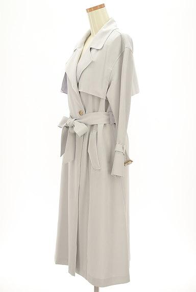 PROPORTION BODY DRESSING(プロポーションボディ ドレッシング)の古着「ペールカラートレンチコート(トレンチコート)」大画像3へ