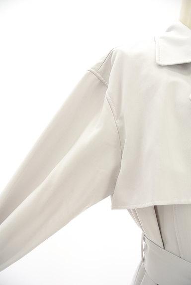 PROPORTION BODY DRESSING(プロポーションボディ ドレッシング)の古着「ペールカラートレンチコート(トレンチコート)」大画像4へ