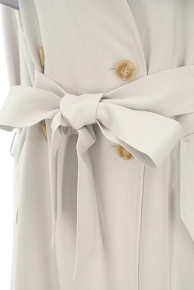 PROPORTION BODY DRESSING(プロポーションボディ ドレッシング)の古着「ペールカラートレンチコート(トレンチコート)」大画像5へ