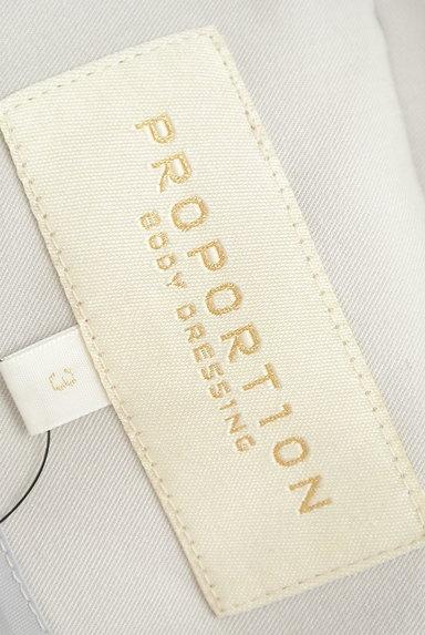 PROPORTION BODY DRESSING(プロポーションボディ ドレッシング)の古着「ペールカラートレンチコート(トレンチコート)」大画像6へ