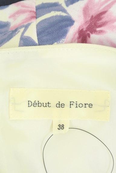 Debut de Fiore by LAISSE PASSE(デビュー・ド・フィオレ)の古着「花柄膝下丈フレアワンピース(ワンピース・チュニック)」大画像6へ