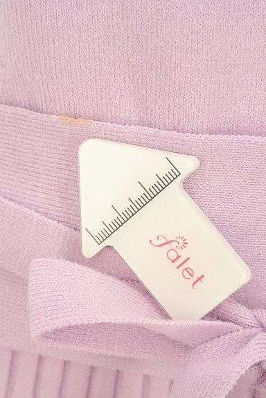Debut de Fiore by LAISSE PASSE(デビュー・ド・フィオレ)の古着「フェミニンカラーのニットセットアップ(セットアップ(ジャケット+スカート))」大画像5へ