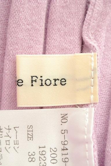 Debut de Fiore by LAISSE PASSE(デビュー・ド・フィオレ)の古着「フェミニンカラーのニットセットアップ(セットアップ(ジャケット+スカート))」大画像6へ