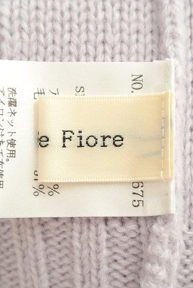 Debut de Fiore by LAISSE PASSE(デビュー・ド・フィオレ)の古着「ビジューボタンケーブルニットワンピ(ワンピース・チュニック)」大画像6へ
