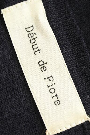Debut de Fiore by LAISSE PASSE(デビュー・ド・フィオレ)の古着「きらきらネックカーディガン(カーディガン・ボレロ)」大画像6へ