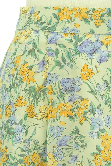 Te chichi(テチチ)の古着「ミモレ丈花柄フレアスカート(ロングスカート・マキシスカート)」大画像4へ