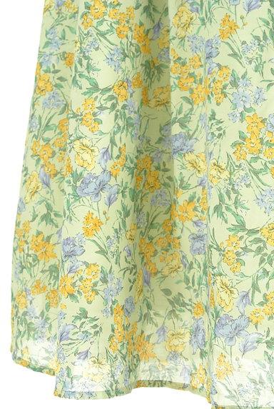 Te chichi(テチチ)の古着「ミモレ丈花柄フレアスカート(ロングスカート・マキシスカート)」大画像5へ