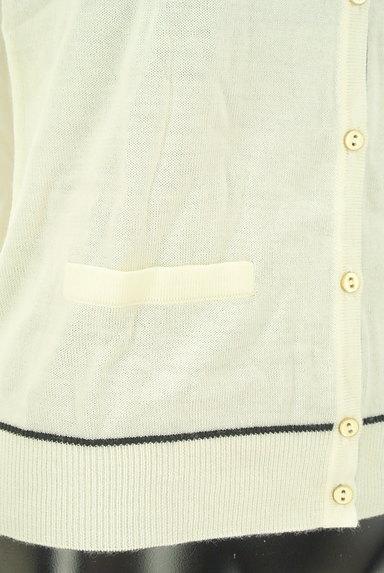 CLEAR IMPRESSION(クリアインプレッション)の古着「黒ラインシンプルカーディガン(カーディガン・ボレロ)」大画像5へ
