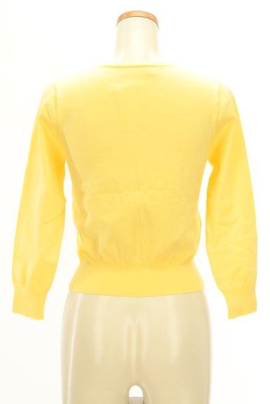 LAISSE PASSE(レッセパッセ)の古着「キラキラボタンのカラーカーディガン(カーディガン・ボレロ)」大画像2へ