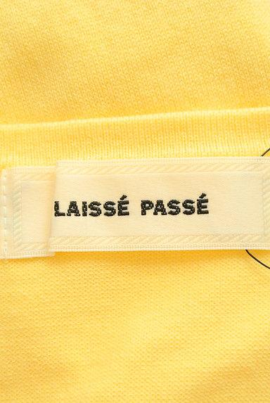 LAISSE PASSE(レッセパッセ)の古着「キラキラボタンのカラーカーディガン(カーディガン・ボレロ)」大画像6へ