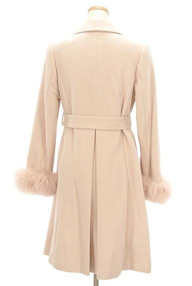 LAISSE PASSE(レッセパッセ)の古着「ふわふわファー袖ロングコート(コート)」大画像2へ