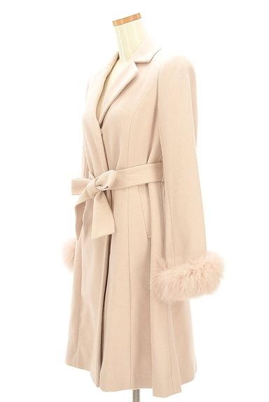LAISSE PASSE(レッセパッセ)の古着「ふわふわファー袖ロングコート(コート)」大画像3へ