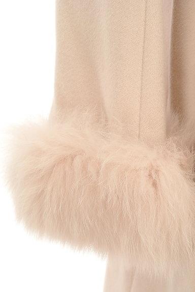 LAISSE PASSE(レッセパッセ)の古着「ふわふわファー袖ロングコート(コート)」大画像4へ