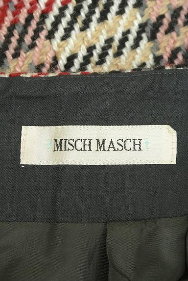 MISCH MASCH(ミッシュマッシュ)の古着「ベルト付きチェック柄膝下丈起毛タイトスカート(スカート)」大画像6へ