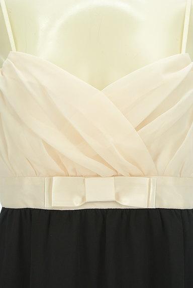 LAISSE PASSE(レッセパッセ)の古着「バイカラー膝丈シフォンキャミワンピ(キャミワンピース)」大画像4へ