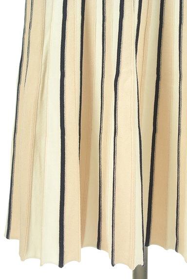 JUSGLITTY(ジャスグリッティー)の古着「ミモレ丈ベルト付きニットワンピース(ワンピース・チュニック)」大画像5へ