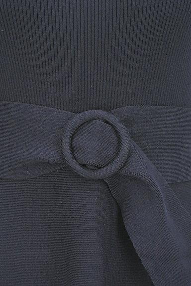 Apuweiser riche(アプワイザーリッシェ)の古着「ベルト付き膝下丈刺繍ニットワンピ(ワンピース・チュニック)」大画像5へ