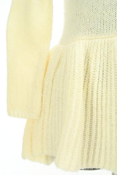 LAISSE PASSE(レッセパッセ)の古着「パールボタンペプラムカーディガン(カーディガン・ボレロ)」大画像5へ