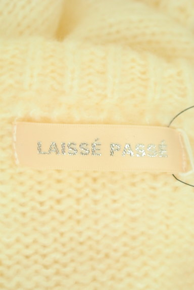 LAISSE PASSE(レッセパッセ)の古着「パールボタンペプラムカーディガン(カーディガン・ボレロ)」大画像6へ