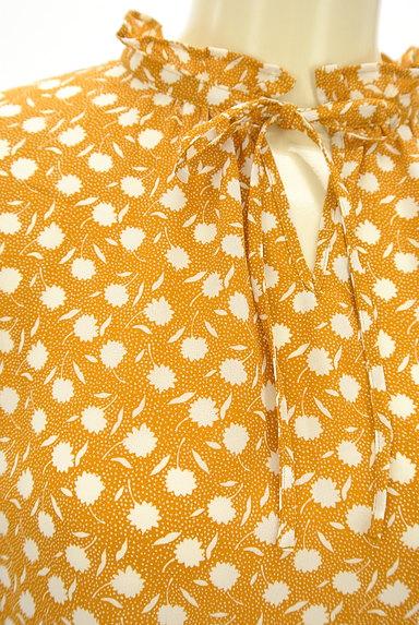 McGREGOR(マックレガー)の古着「花柄×ドットシフォンカットソー(ブラウス)」大画像4へ